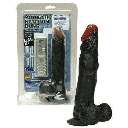 Dildo z wibracjami - Authentic Reaction z kategorii Dildo i penisy