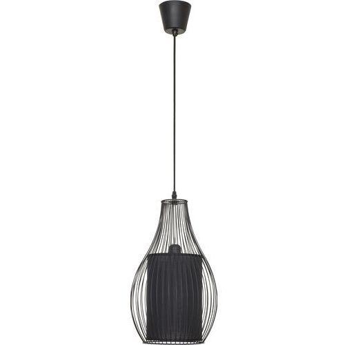 Nowodvorski 4610 - Lampa wisząca CAMILLA BLACK - 1xE27/40W/230V, kolor czarny