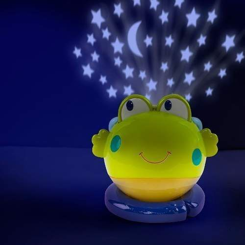 Projektor lampka żabka marki Dumel