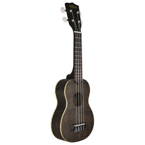 Kala Exotic Mahogany Ply Soprano Ukulele Black ukulele sopranowe + pokrowiec