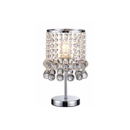 Lampka stołowa lancaster crystal 527701-06 1x40w e14 chrom marki Reality