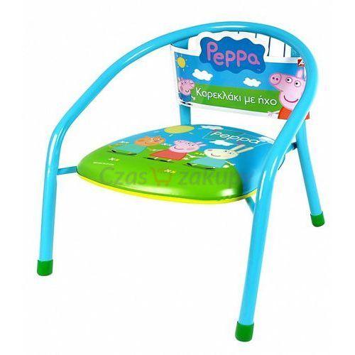 As company  niebieskie krzesełko z dźwiękiem świnka peppa