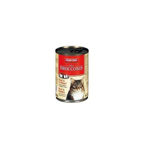 Animonda brocconis cat wołowina i drób 400g - wołowina i drób 400g