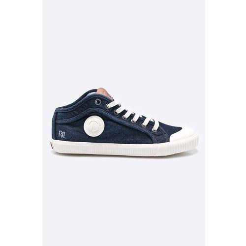 - tenisówki industry blue denim, Pepe jeans