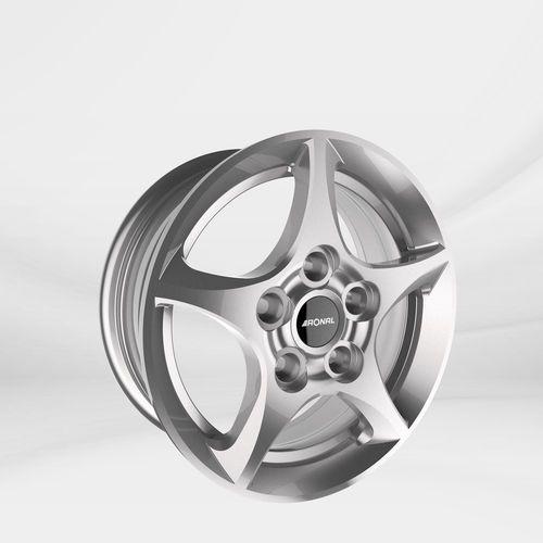 """Felgi Aluminiowe 17"""" RONAL 5X114.3 R53 – SREBRNY (4053881108460)"""