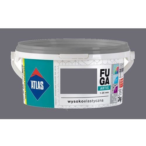 Atlas artis fuga stalowy 1-25mm 2kg-203