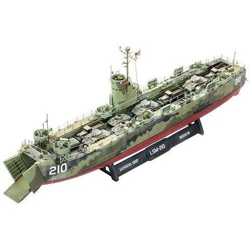 Revell model u.s. navy landing ship medium1:144