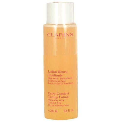 Clarins  extra comfort toning lotion dry skin 200ml w tonik do skóry suchej i wrażliwej (3380810058215)