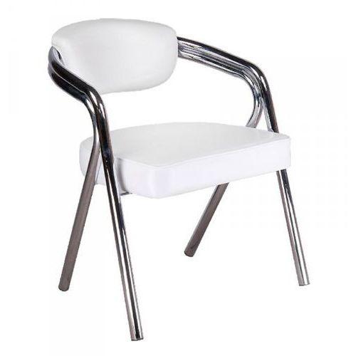 Krzesło do poczekalni br-4511 białe od producenta Vanity_b
