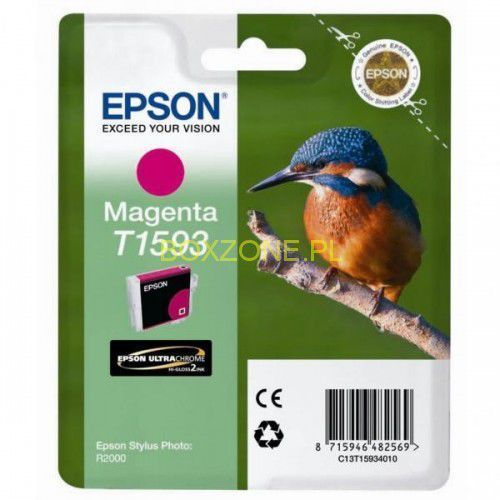 Epson oryginalny ink C13T15934010, magenta, 17ml, Epson Stylus Photo R2000 (8715946482569)