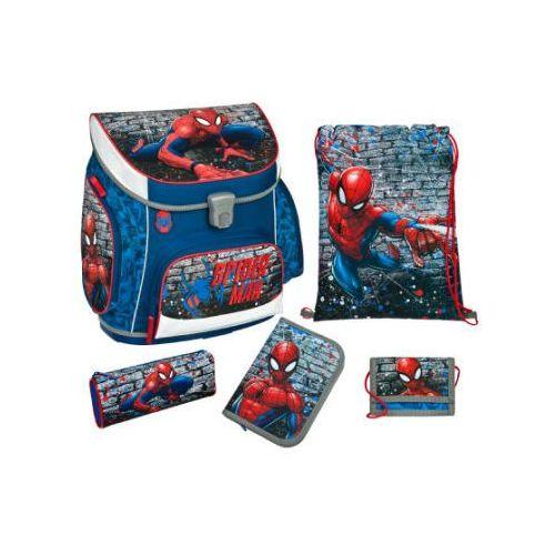 Scooli campus up plecak szkolny z akcesoriami, 5 elementów - marvel spiderman