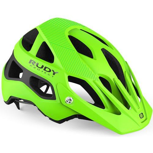 Rudy project protera kask rowerowy zielony/czarny s-m | 54-58cm 2019 kaski rowerowe