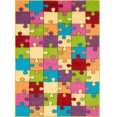 Agnella Dywan funky super puzzle złoty 160x220
