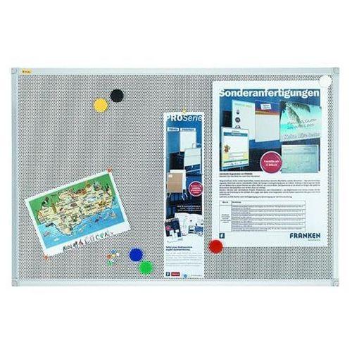 Tablica magnetyczno-tekstylna FRANKEN Xtra!Line, 60x45cm, rama aluminiowa (4016946706261)