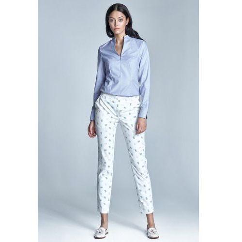 Spodnie Damskie Model SD23 1179 White, kolor biały