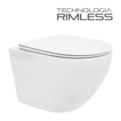 Zoja Muszla wc rimless vera + deska wolnoopadająca duroplast slim
