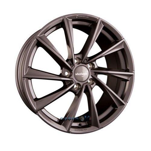Wheelworld wh32 daytona grau glänzend lackiert (dg+) einteilig 8.00 x 18 et 47
