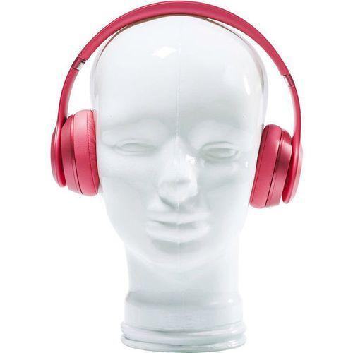 :: dekoracyjna głowa headphone mount - biała - biały marki Kare design