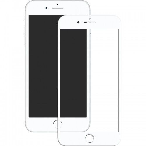 Szkło hartowane Mocolo 3D Full Cover Tempered Glass iPhone 8 White (2000054005011)
