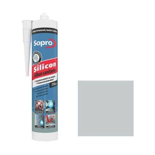 Silikon sanitarny Sopro 310 ml jasny szary 16, 037/310ML