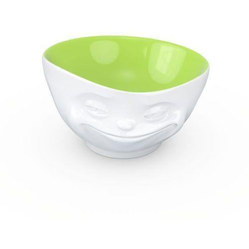 - miseczka - uśmiechnięta buźka - zielony środek - 500 ml marki 58products