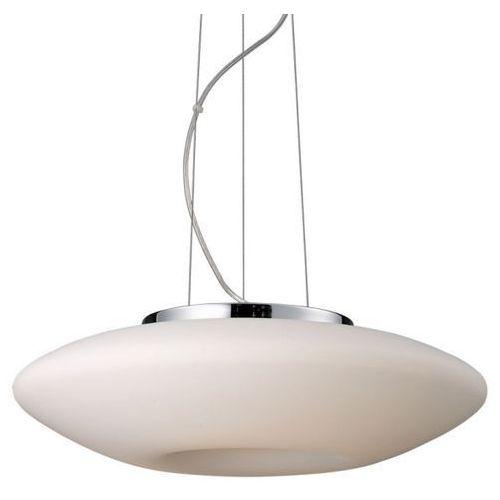 Żyrandol LAMPA wisząca GRAHAM 2937-SP Italux szklana OPRAWA nowoczesna biała, 2937-SP