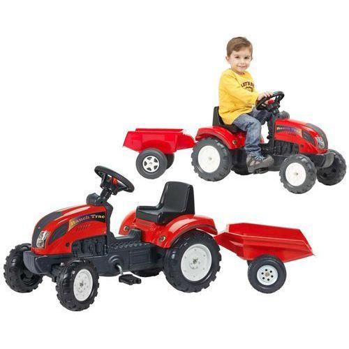 FALK Traktor z przyczepą, czerwony 2/5 (3016200205111)