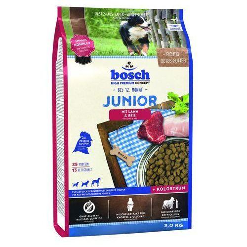 Bosch sucha karma dla psa Junior jagnięcina & ryż 3kg