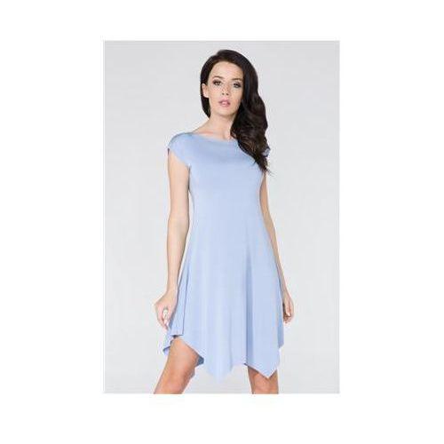 Sukienka model t137 blue, Tessita