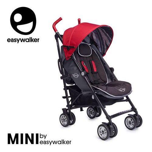 Mini by wózek spacerowy z osłonką przeciwdeszczową 6,5kg union red (special edition) marki Easywalker