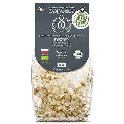 Fabijańscy (makarony) Makaron (z ryżu białego) wstążka karbowana reginette bezglutenowy bio 225 g - fabijańscy (5902811253208)
