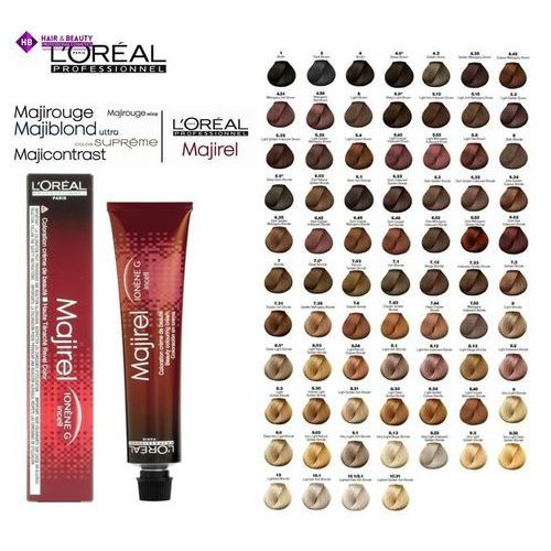 L'oréal professionnel majirel farba do włosów odcień 7,0 (beauty colouring cream) 50 ml