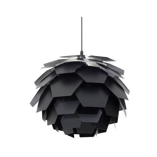 Lampa czarna - sufitowa - żyrandol - lampa wisząca -segre mała marki Beliani