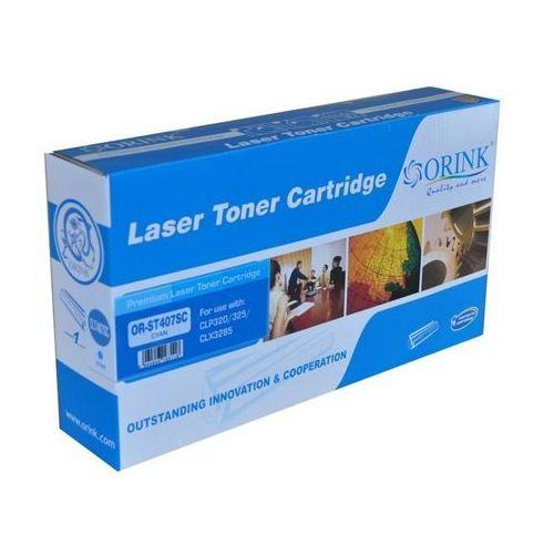 Toner do drukarek Samsung CLP320 / 325 / CLX3185 | Cyan | 1000str. LSCLP 320C RM/OR