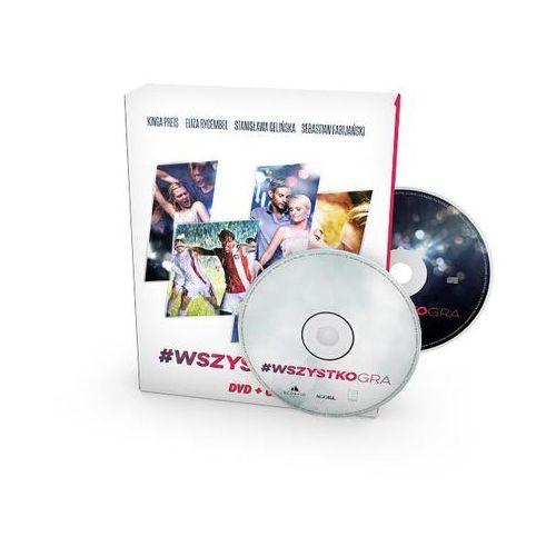 Agora Wszystko gra (dvd+cd) - agnieszka glińska (9788326824616)