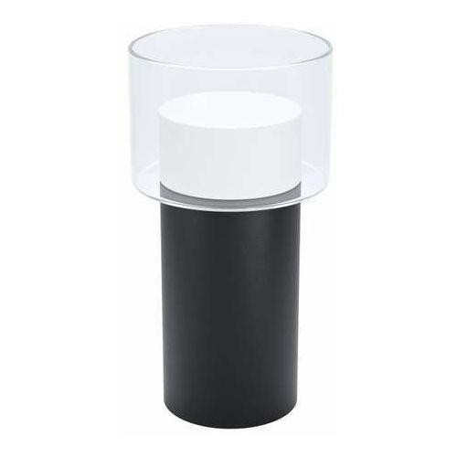 Eglo molineros 39728 lampa stołowa lampka 1x5w gu10-led czarna/biała