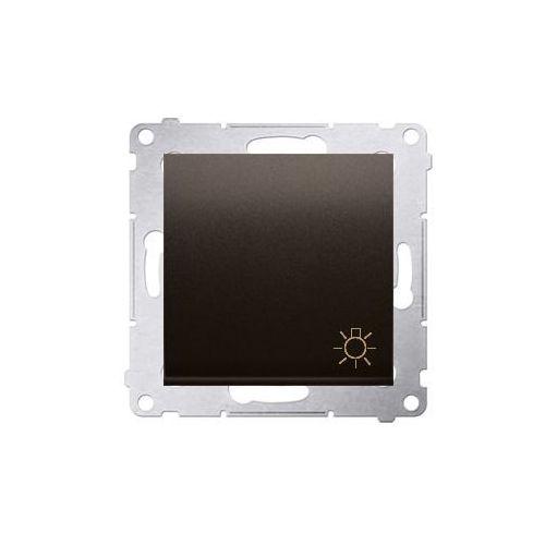 """SIMON 54 Przycisk """"światło"""" (moduł) 10AX, 250V~, szybkozłącza; brąz mat DS1.01/46 WMDL-080xxx-046, DS1.01/46"""