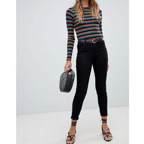 New Look India Supersoft Skinny Jeans - Black, kolor czarny