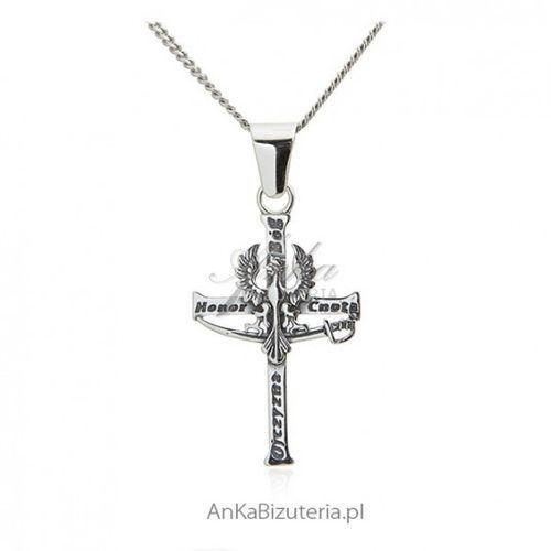 ankabizuteria.pl Krzyż patriotyczny bóg honor ojczyzna z orzełkiem