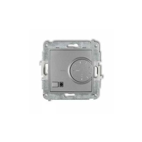 Regulator temperatury z czujnikiem powietrznym Karlik Mini 7MRT-2, srebrny metalik (5903268588042)