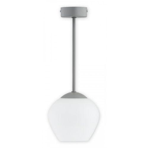 Lemir Molto O2781 W1 SZA lampa wisząca zwis 1x60W E27 szary mat, kolor Szary