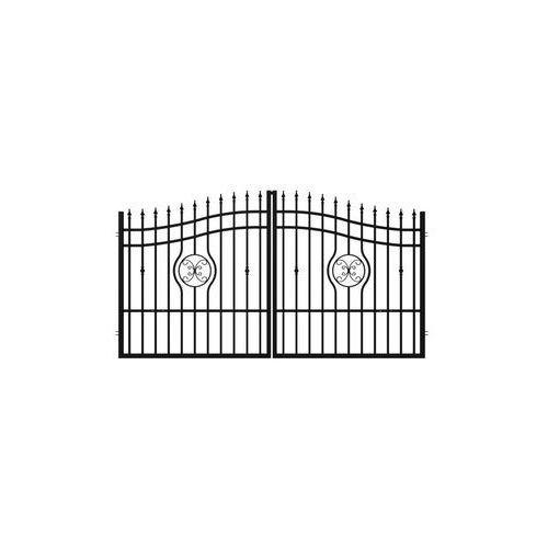 Brama dwuskrzydłowa malaga 300 x 160 cm marki Polargos