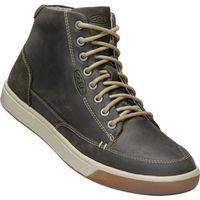 KEEN męskie trampki Glenhaven Sneaker Mid M, Dark Olive/Black Olive, 43, kolor czarny