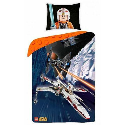 Pościel LEGO STAR WARS Gwiezdne Wojny (140 x 200 cm) z kategorii komplety pościeli dla dzieci