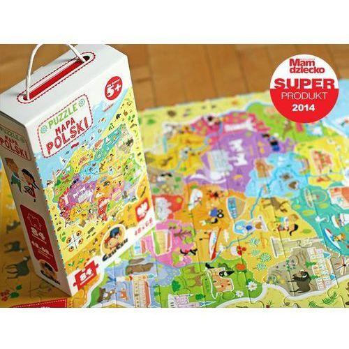 Czuczu puzzle mapa polski