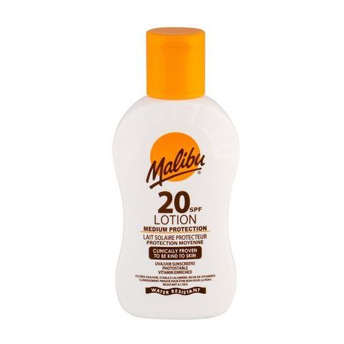 Malibu Lotion SPF20 preparat do opalania ciała 100 ml unisex, 91720