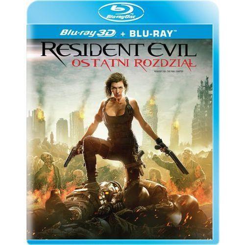 Imperial cinepix Resident evil: ostatni rozdział 3d (2bd)