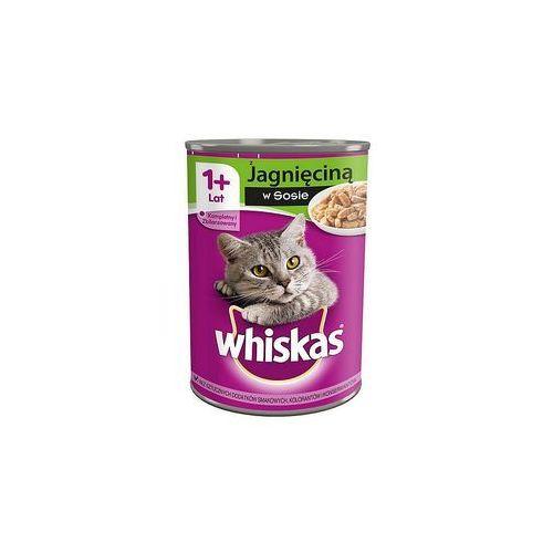 Whiskas  adult jagnięcina - puszka 400g (5900951017544)