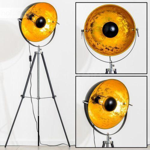 Saturn Lampa stojąca Chrom, Czarny, 1-punktowy - Nowoczesny - Obszar wewnętrzny - Saturn - Czas dostawy: od 2-4 dni roboczych