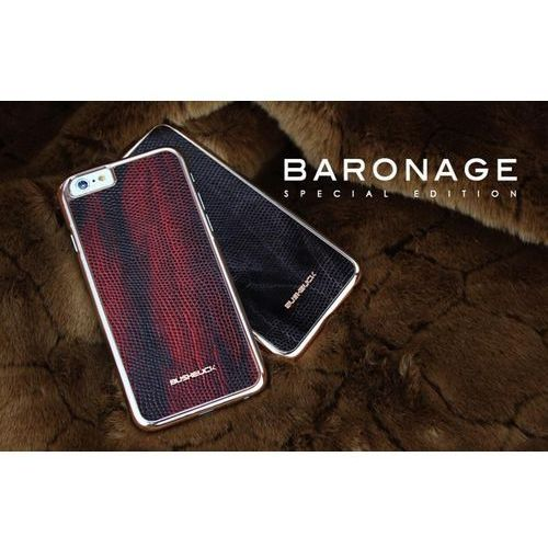 BUSHBUCK BARONAGE Special Edition - Etui skórzane do iPhone 6s Plus / iPhone 6 Plus (czerwony), IP6PBESRD